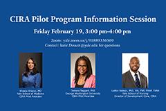 CIRA Pilot Program Information Session flyer