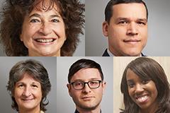 Project Team Members (Clockwise From Top Left) - Donna Spiegelman, Raul Hernandez-Ramirez, Debbie Humphries, Daniel Davidson and Christine Simon