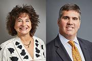 Drs. Donna Spiegelman and Eric Velazquez