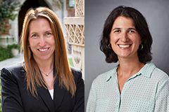 Drs. Tami Sullivan and Jaimie Meyer