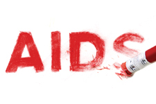AIDS being erased