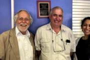Drs. Friedland, Moll and Shenoi at Celebration